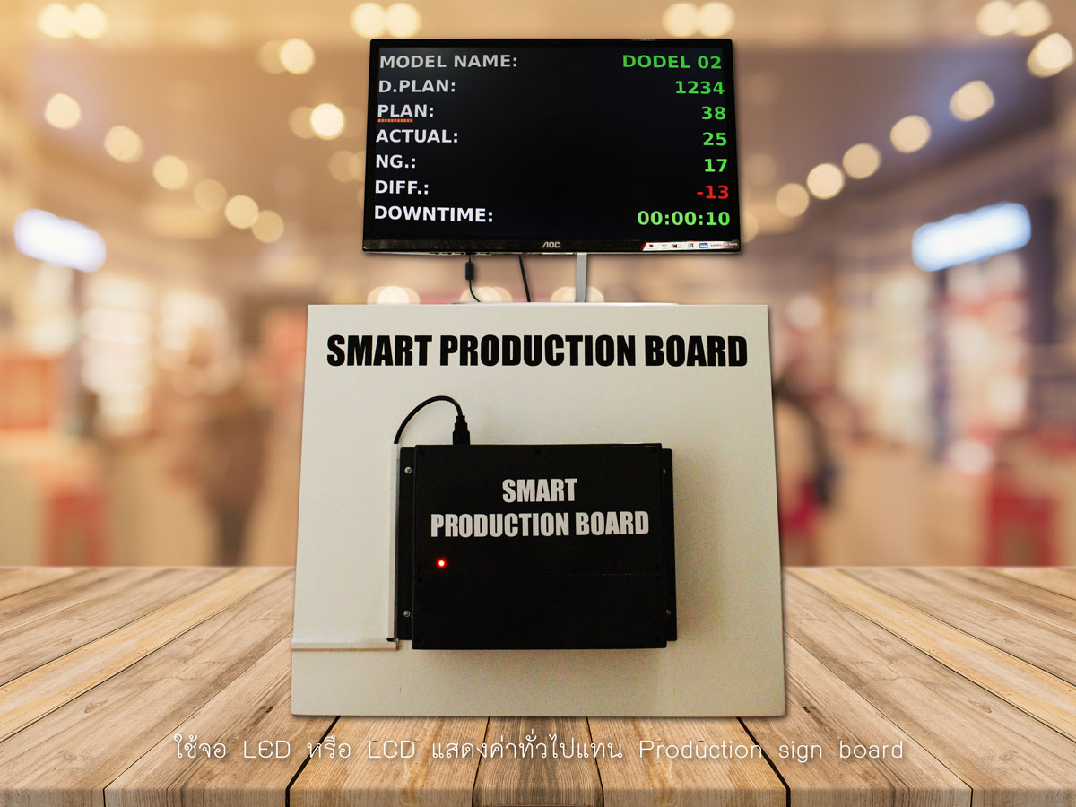 smart production on display LED / LCD